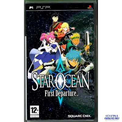 STAR OCEAN FIRST DEPARTURE PSP