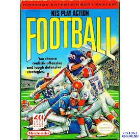 NES PLAY ACTION FOOTBALL REV-A
