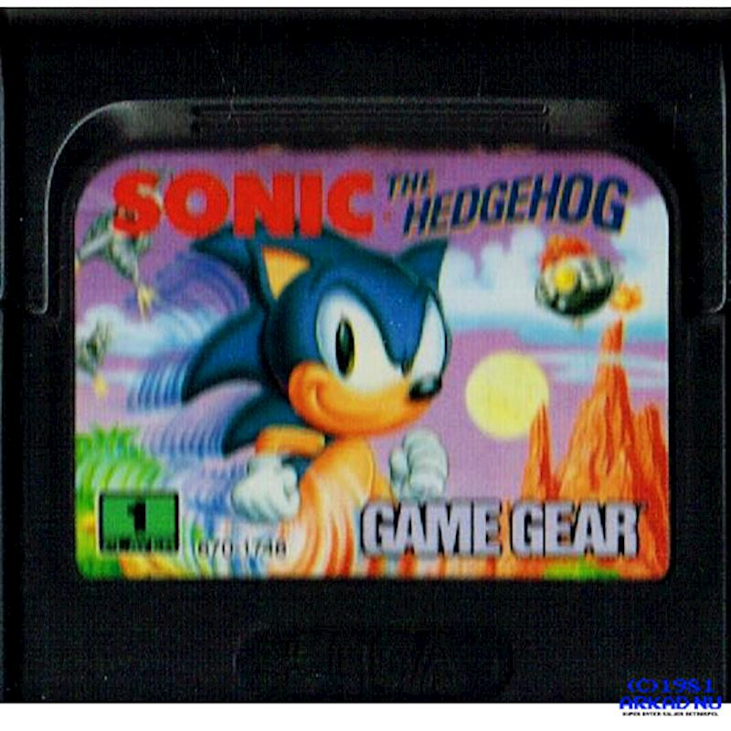 Sonic The Hedgehog Game Gear Have You Played A Classic Today