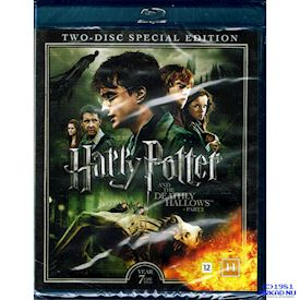 HARRY POTTER AND THE DEATHLY HALLOWS PART 2 YEAR 7 SPECIAL EDITION BLU-RAY