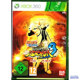 NARUTO SHIPPUDEN ULTIMATE NINJA STORM 3 WILL OF FIRE EDITION XBOX 360