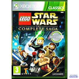 LEGO STAR WARS THE COMPLETE SAGA XBOX 360
