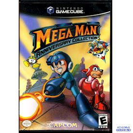 MEGA MAN ANNIVERSARY COLLECTION GAMECUBE USA NTSC