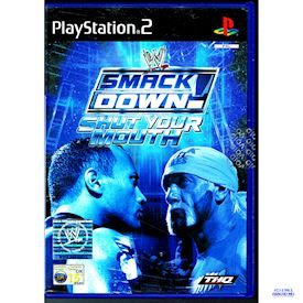 WWE SMACKDOWN SHUT YOUR MOUTH PS2