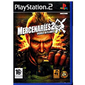 MERCENARIES 2 WORLD IN FLAMES PS2