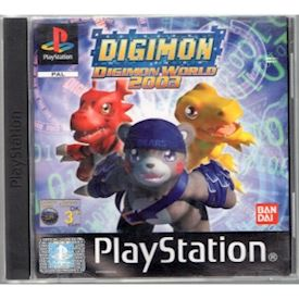 DIGIMON WORLD 2003 PS1