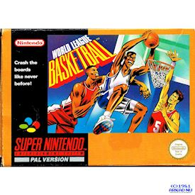 WORLD LEAGUE BASKETBALL SNES SCN - SNSP-LB-SCN