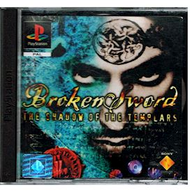 BROKEN SWORD THE SHADOW OF THE TEMPLARS PS1