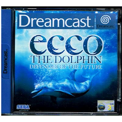 ECCO THE DOLPHIN DEFENDERS OF THE FUTURE DREAMCAST