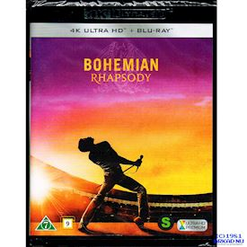 BOHEMIAN RHAPSODY 4K ULTRA HD + BLU-RAY