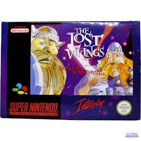 THE LOST VIKINGS II NORSE OF NORSEWEST SNES