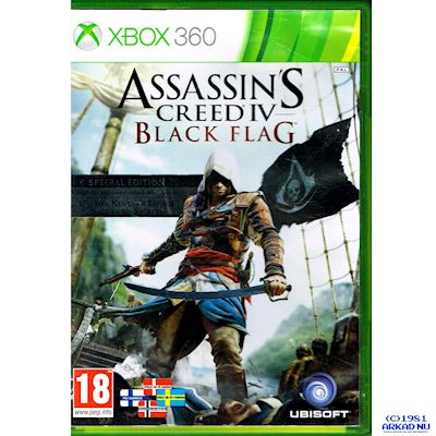 ASSASSINS CREED IV BLACK FLAG SPECIAL EDITION XBOX 360