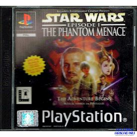 STAR WARS EPISODE I THE PHANTOM MENACE PS1