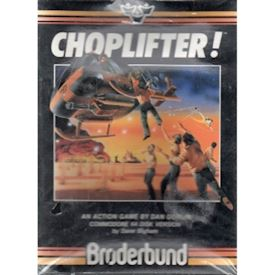CHOPLIFTER C64 DISKETT NYTT