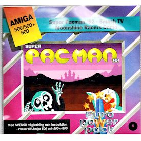 SUPER PAC MAN 92, SMASH TV, MOONSHINE RACERS DEMO AMIGA