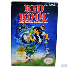 KID KOOL AND THE QUEST FOR THE SEVEN WONDER HERBS NES REV-A USA
