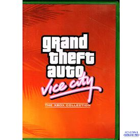 GRAND THEFT AUTO VICE CITY THE XBOX COLLECTION XBOX