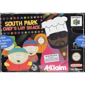 SOUTHPARK CHEFS LUV SHACK N64
