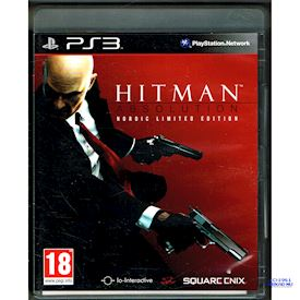 HITMAN ABSOLUTION NORDIC LIMITED EDITION PS3