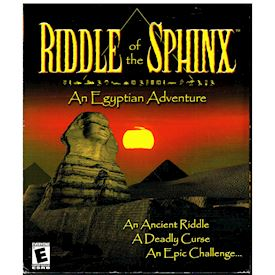 RIDDLE OF THE SPHINX AN EGYPTIAN ADVENTURE PC BIGBOX