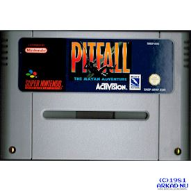 PITFALL THE MAYAN ADVENTURE SNES