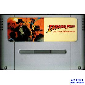 INDIANA JONES GREATEST ADVENTURES SNES BOOTLEG