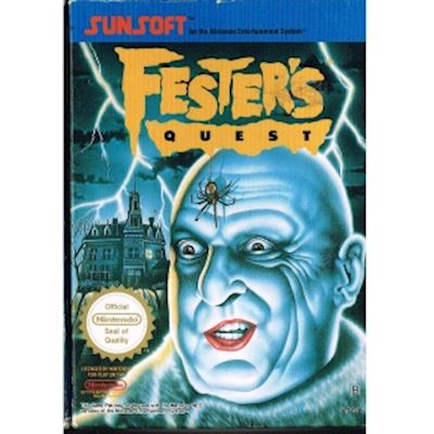 FESTERS QUEST NES SCN