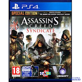 ASSASSINS CREED SYNDICATE SPECIAL EDITION PS4