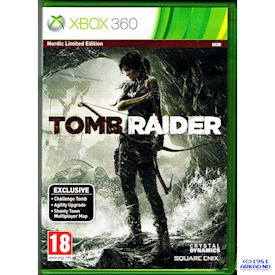 TOMB RAIDER NORDIC LIMITED EDITION XBOX 360