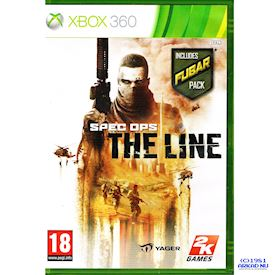 SPEC OPS THE LINE FUBAR EDITION XBOX 360