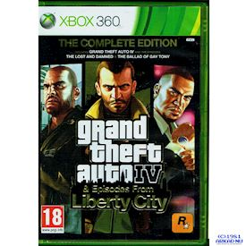 GRAND THEFT AUTO IV EPISODES FROM LIBERTY CITY COMPLETE EDITION XBOX 360