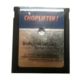 CHOPLIFTER C64 Cartridge