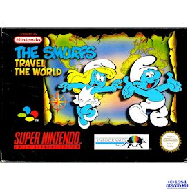 THE SMURFS TRAVEL THE WORLD SNES