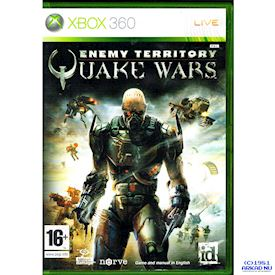 QUAKE WARS ENEMY TERRITORY XBOX 360