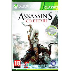 ASSASSINS CREED III XBOX 360