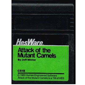 ATTACK OF THE MUTANT CAMELS C64 CARTRIDGE