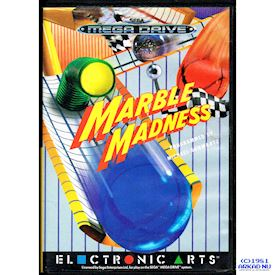 MARBLE MADNESS MEGADRIVE