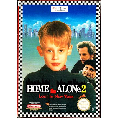HOME ALONE 2 LOST IN NEW YORK NES