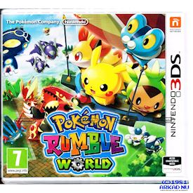 POKEMON RUMBLE WORLD 3DS