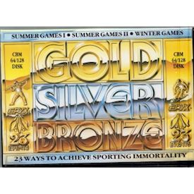 GOLD SILVER BRONZE C64 DISK