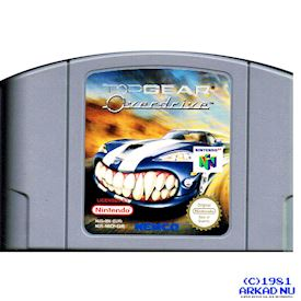 TOP GEAR OVERDRIVE N64