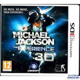 MICHAEL JACKSON THE EXPERIENCE 3D 3DS