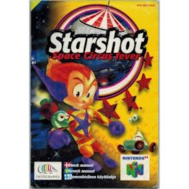 STARSHOT SPACE CIRCUS FEVER MANUAL N64 SCN