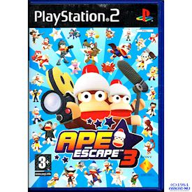 APE ESCAPE 3 PS2 PROMO