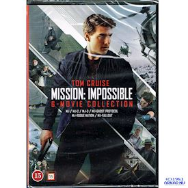 MISSION IMPOSSIBLE 6-MOVIE COLLECTION DVD