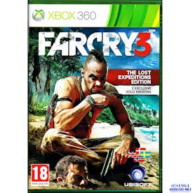 FARCRY 3 THE LOST EXPEDITIONS EDITION XBOX 360