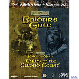BALDURS GATE + TALES OF THE SWORD COAST PC BIGBOX