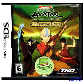 AVATAR THE THE LAST AIRBENDER THE BURNING EARTH DS