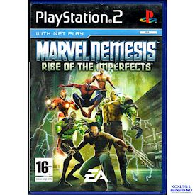 MARVEL NEMESIS RISE OF THE IMPERFECTS PS2
