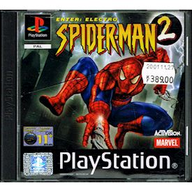SPIDER-MAN 2 ENTER ELECTRO PS1
